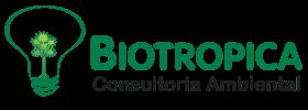 Logo BIOTROPICA Consultoria Ambiental (fundo transparente)